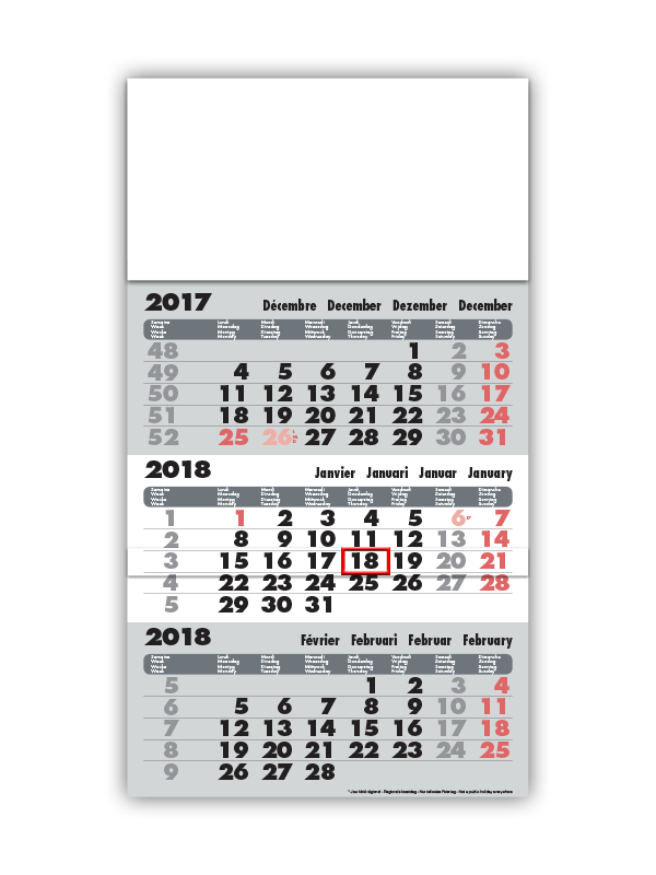 Fabricant de calendriers - Calendriers publicitaires