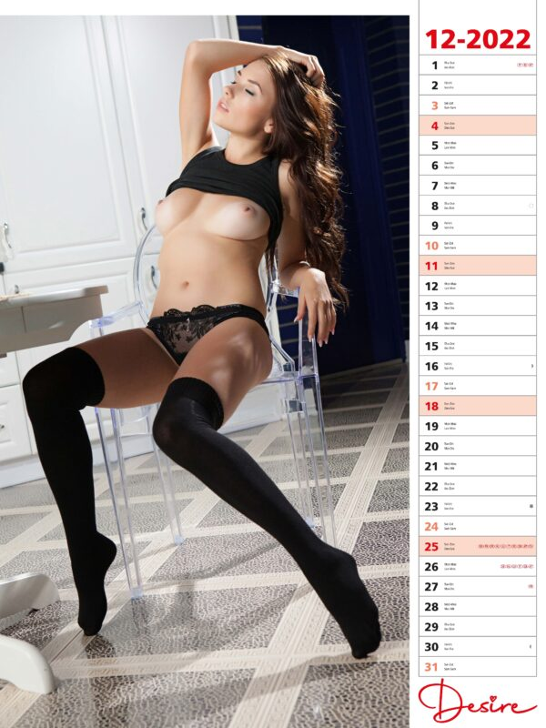 impression calendrier sexy glamour 2022-12